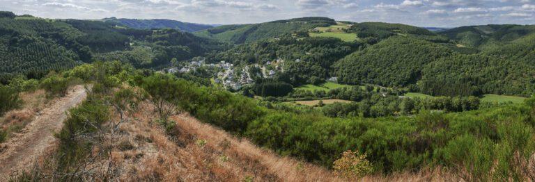 Overzichtsfoto Ardennen Luxemburg